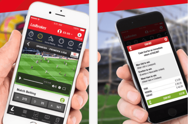 Ladbrokes mobile apps