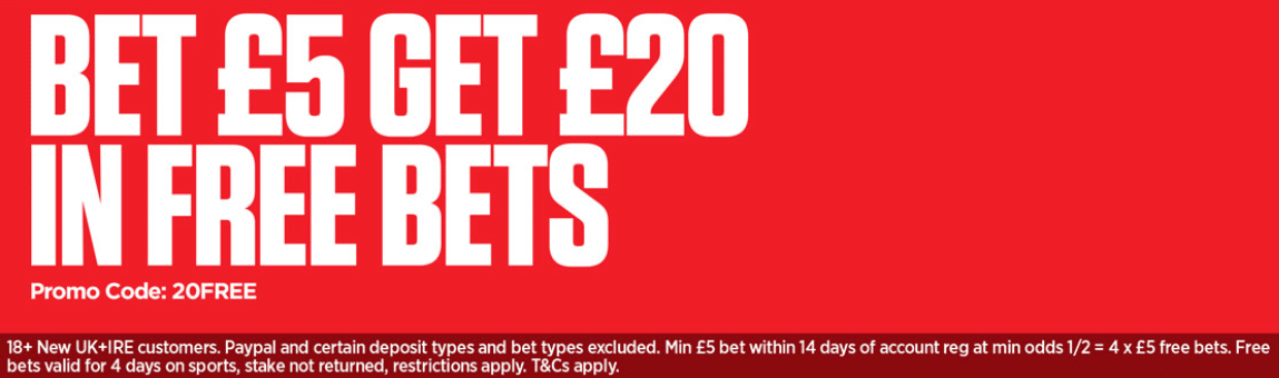 ladbrokes welcome offer