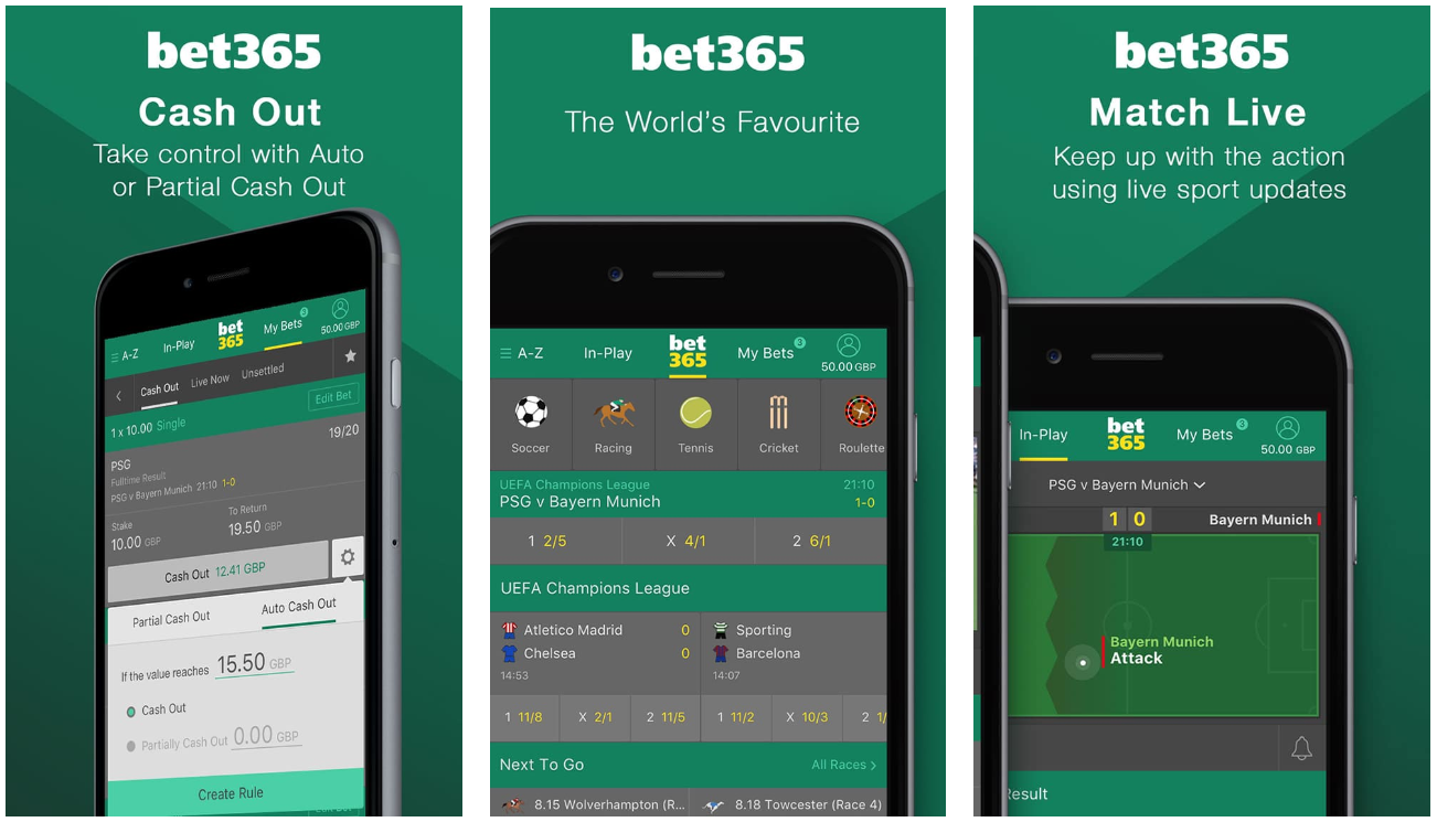 The Bet365 Bonus Code for Mobile