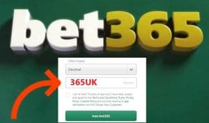 How to use the Bet365 Bonus Code
